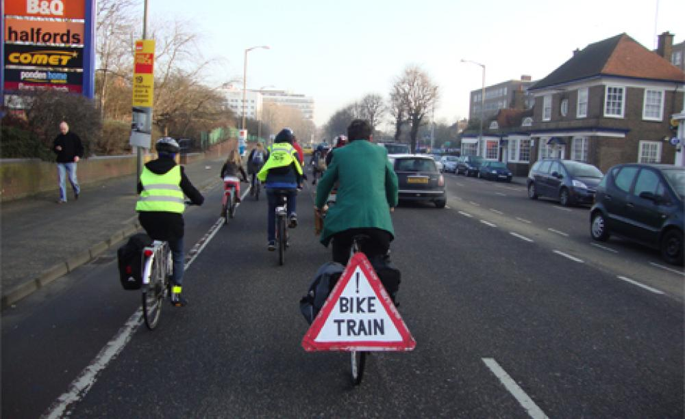 Brighton bike train