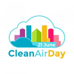 CycleWin supports Clean Air Day 21 June