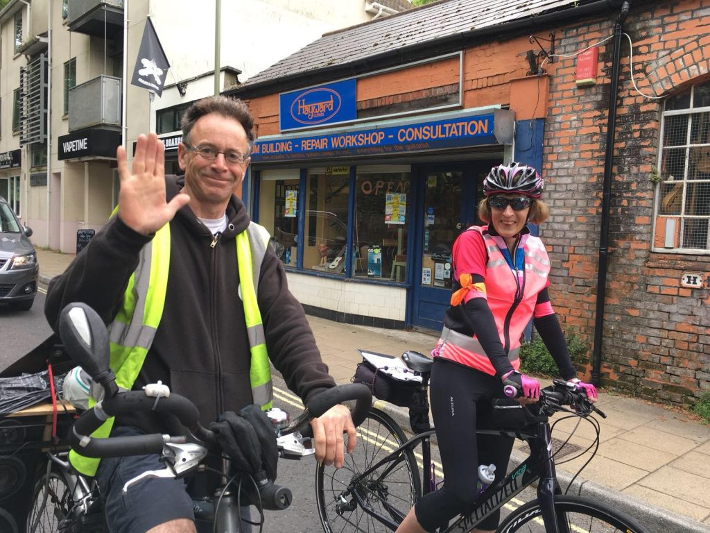 Duncan Blinkhorn, Brighton cycle activist