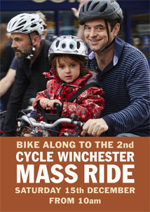 Cycle Winchester 2nd Mass Ride Leaflet