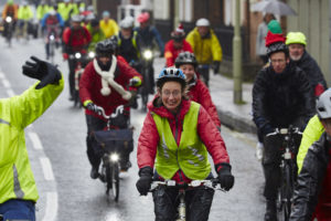 """Mass Ride 2, """"a triumph over the elements"""""""