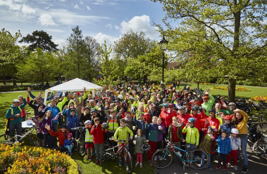 Cycle Winchester Mass Ride #3, April 2019