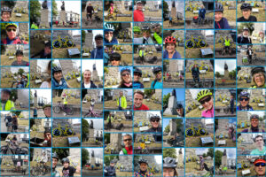Not The Mass Ride, video collage.