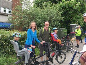 Mass Ride Route B: Harestock & Weeke