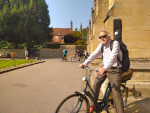 People Who Cycle in Winchester #2: Marvin