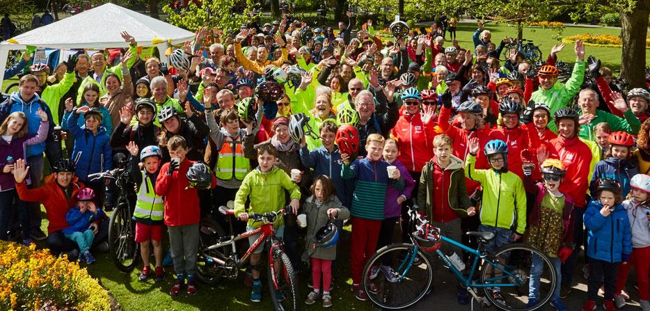 Mass Ride Group Photo
