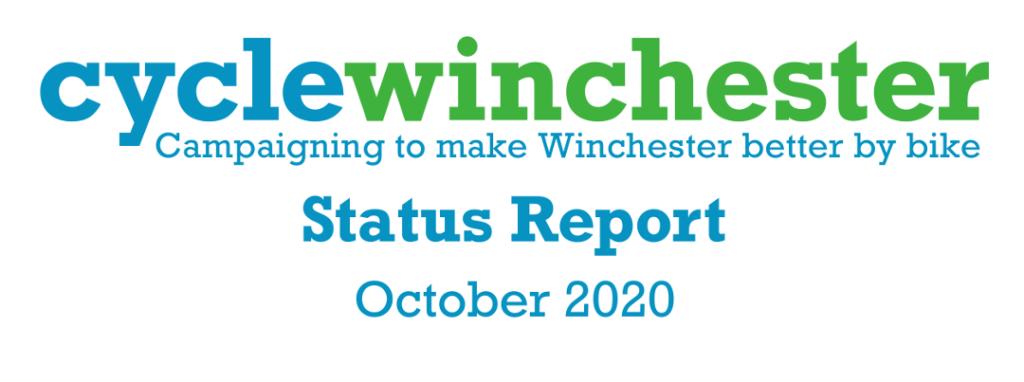 Status Report Oct 2020