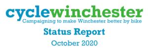 Status Report, October 2020