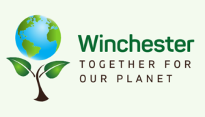 WInchester Together for Our Planet logo